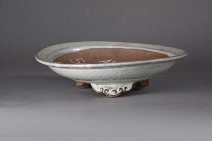 Maceta Bonsai esmaltada redonda