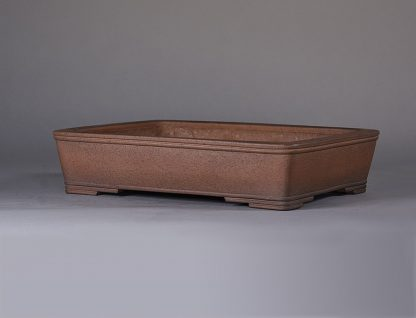 Maceta sin esmaltar rectangular