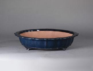 Maceta Bonsai esmaltada espejo