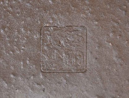 Maceta esmaltada rectangular
