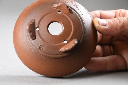 Maceta Bonsai sin esmaltar redonda