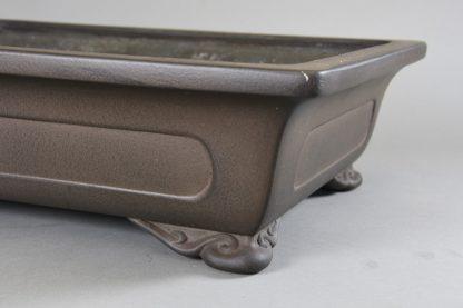 Maceta Bonsai sin esmaltar rectangular