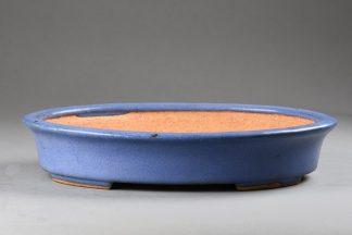 Maceta Bonsai esmaltada ovalada