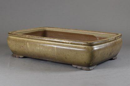 Maceta Bonsai esmaltada rectangular - 40 x27,2 x10