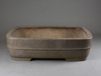 Maceta Bonsai sin esmaltar rectangular 57,2 x47,8 x11