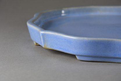 Maceta Bonsai esmaltada espejo - 23,6x21,6x2,6