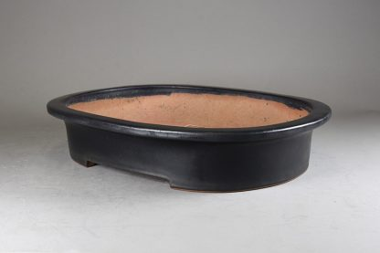 Maceta Bonsai esmaltada ovalada - 46,6 x35x9