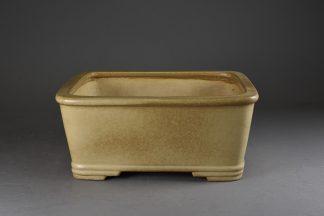 Maceta Bonsai esmaltada rectangular -30,6 x25,4x13,8