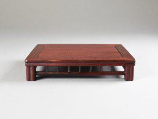 Mesa rectangular 15x11x3 cm Shohin